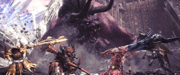 Monster Hunter World, Behemoth, FFXV