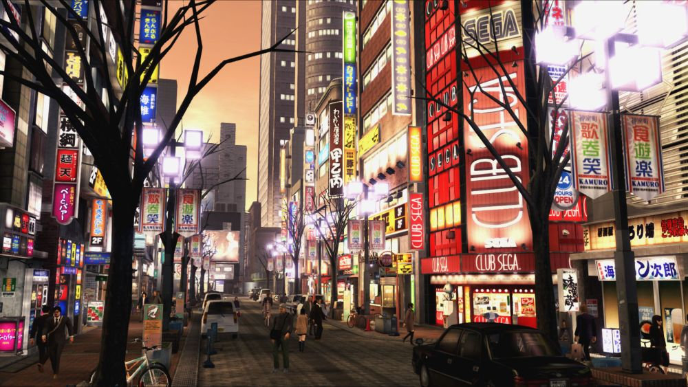 Yakuza, most realistic-looking cities