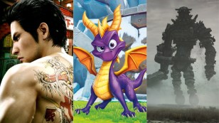2018, best remasters, best remakes, spyro reignited trilogy, yakuza kiwami 2, shadow of the colossus
