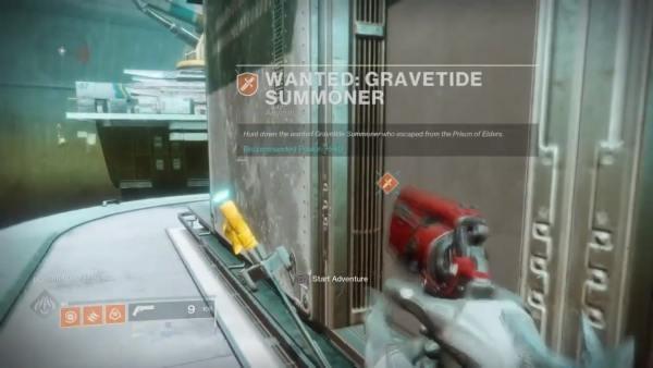 destiny 2, gravetide summoner location