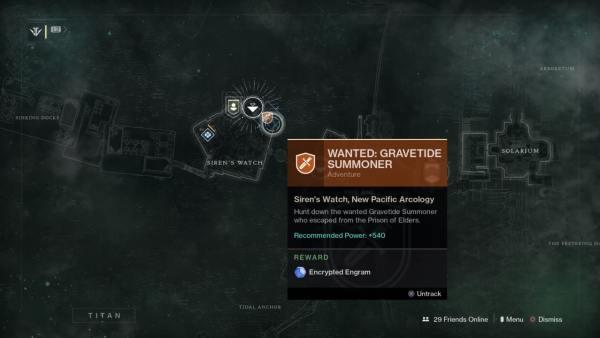 destiny 2, gravetide summoner dec. 4 - dec. 11