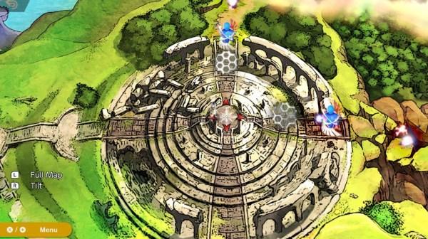 super smash bros ultimate, world of light map
