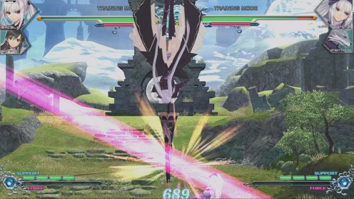 Blade Arcus Rebellion from Shining for PS4 and Switch