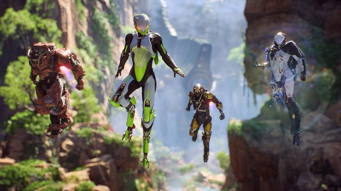 Anthem, best co-op games coming in 2019