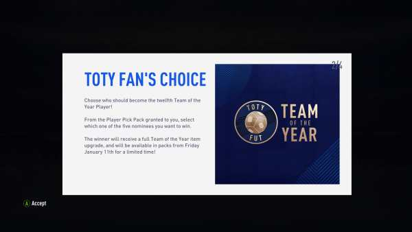 how to vote for 12th team of the year player in FIFA 19