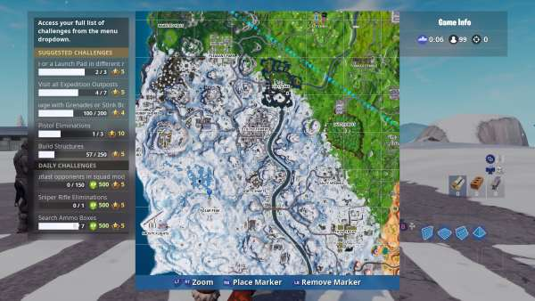 Fortnite Prisoner Skin stage 2 key location