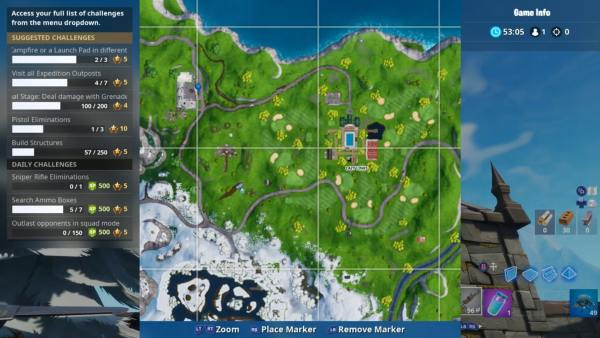 gold balloon locations