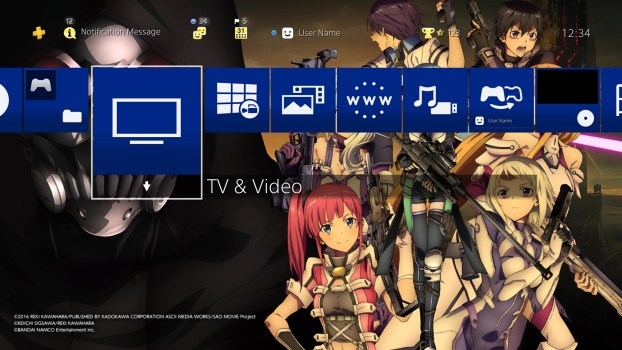Sword Art Online: Fatal Bullet Complete Edition Dynamic Theme