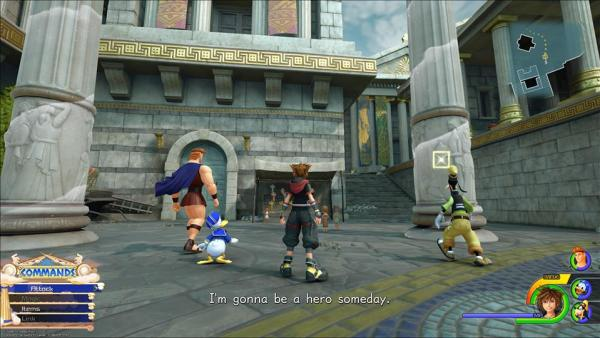 where to find all golden herc figures in kingdom hearts 3, kingdom hearts 3 hercules figures, what are the herc figures for, where to use, kingdom hearts iii, olympus