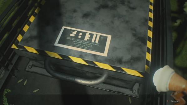 What the Low Temp Testing Lab Code is in Resident Evil 2 Scenario B