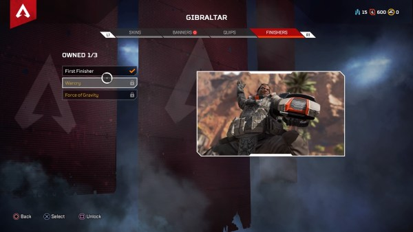 How to do a Finisher in Apex Legends