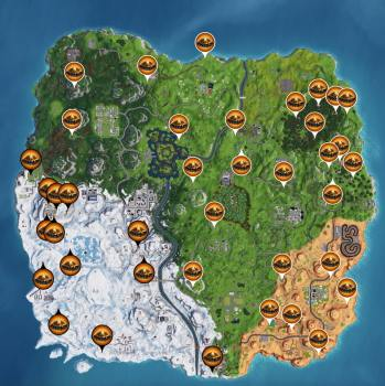 fortnite foraged campfire locations 7.30 update
