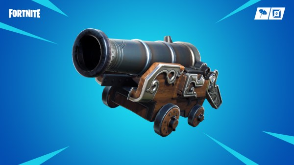 fortnite season 8, pirate cannon, vaulted