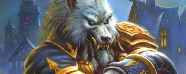 Genn Greymane from 炉石传说