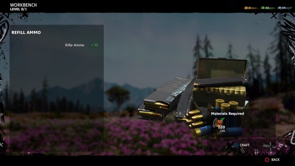 how to get more ammo in Far cry new dawn