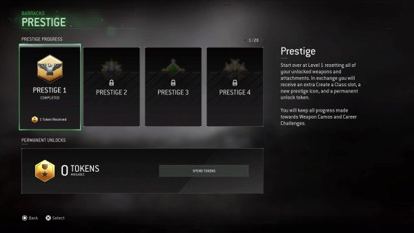 modern warfare remastered, prestige