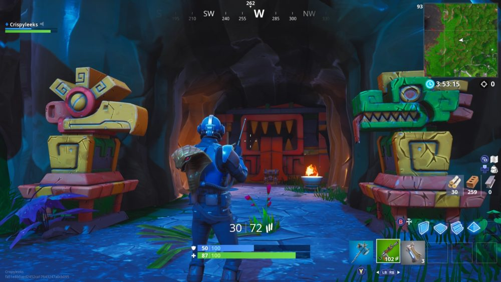 Fortnite week 3 secret star location