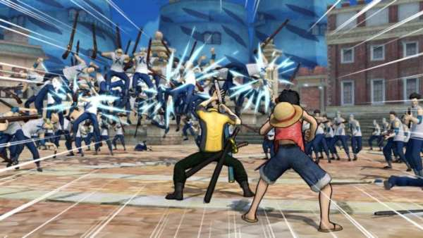 one piece, ps4 couch co-op