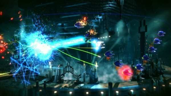 resogun, ps4 couch co-op
