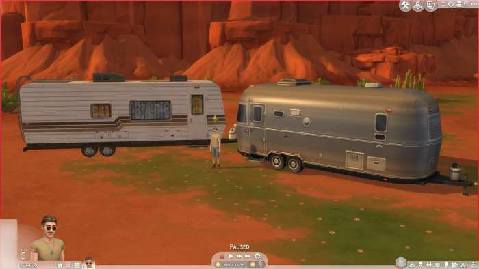 The Sims 4, Mods, Liberated Camper RVs mod