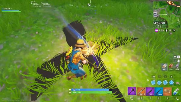 where to find buried treasure in Fortnite