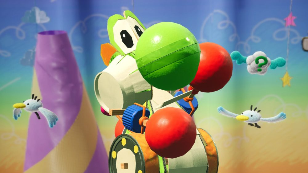 yoshi's crafted world, review, nintendo switch, beautiful games