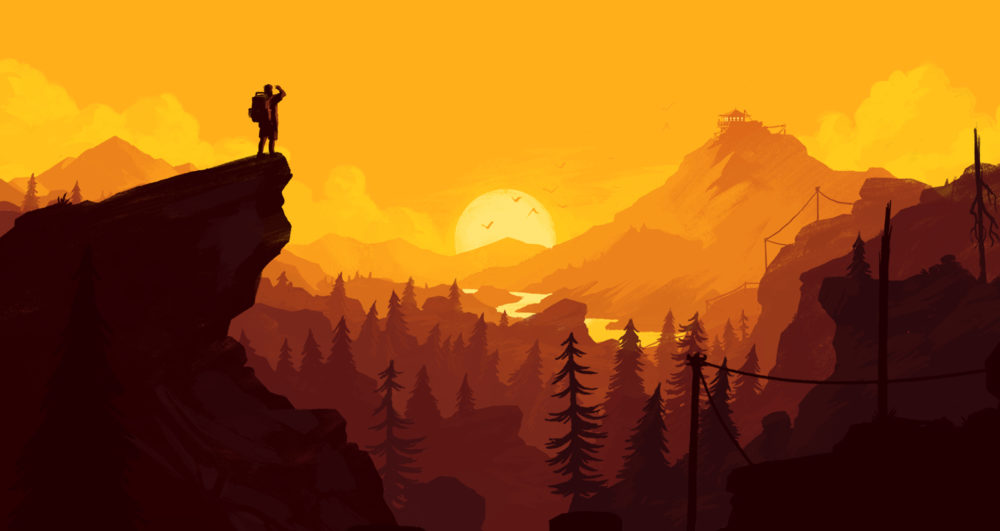 firewatch, chill games, podcasts to
