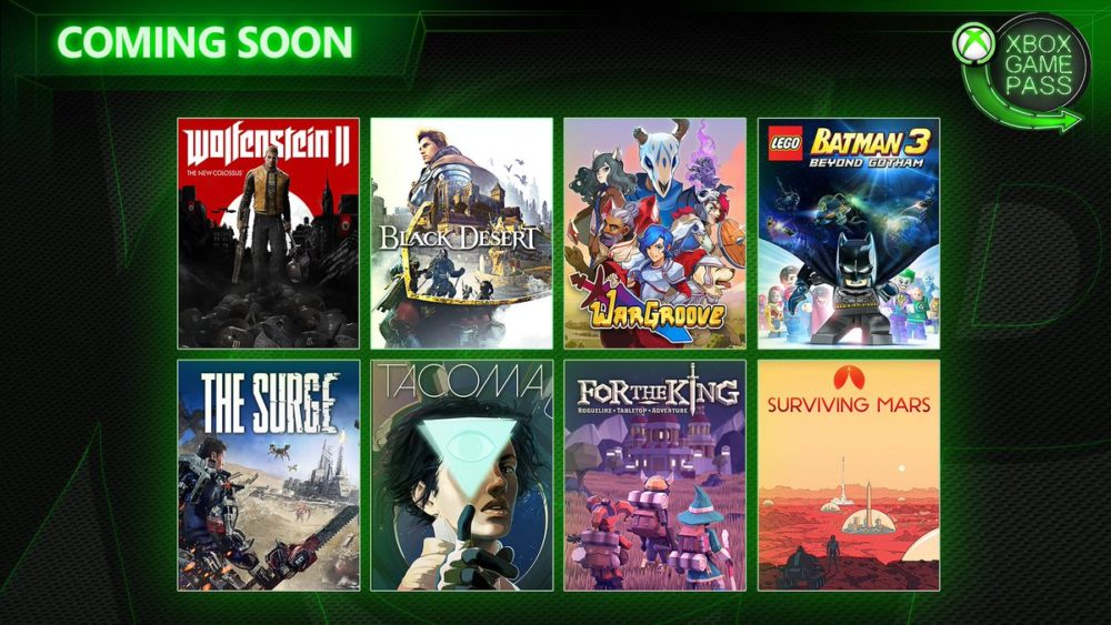 Xbox Game Pass Bringing Wolfenstein II, Wargroove and More to the Service Soon