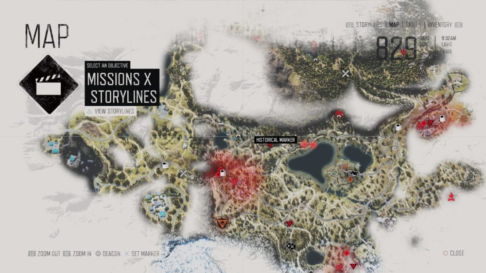 K303274sten Andalusien Karte.Days Gone Karte