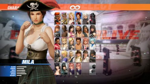 Dead or Alive 6 Pirate DLC (5)