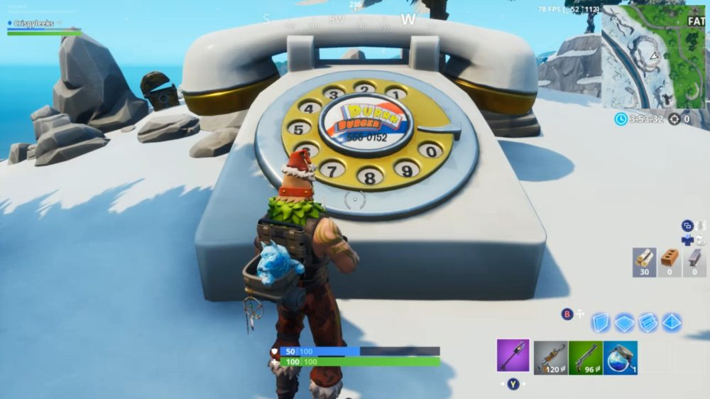 Fortnite Durr Burger Big Telephone