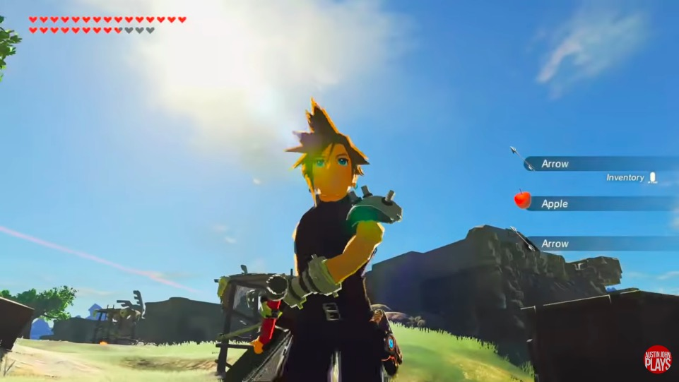 cloud, breath of the wild mods