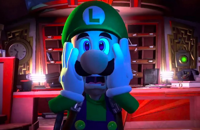 Luigi's Mansion, horror games, nintendo