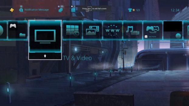 Cyber Punks City Dynamic Theme