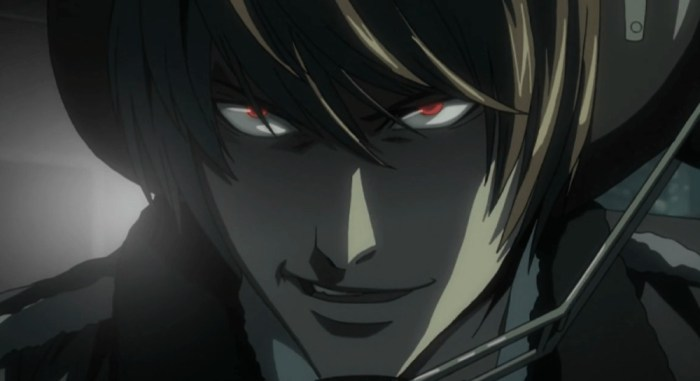 Death Note, Light Yagami, Best Anime Villains