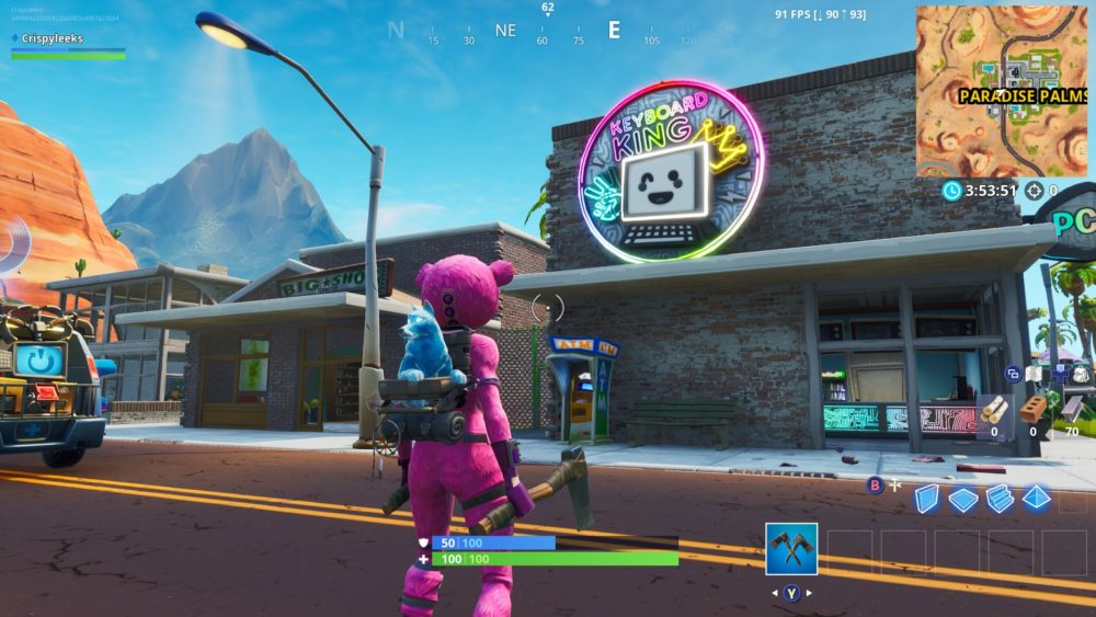 Fortnite Fortbyte 91 location