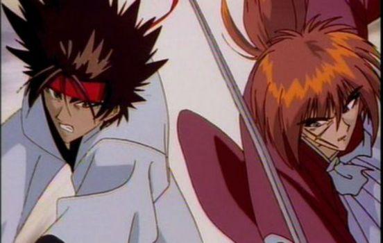 Kenshin and Sanosuke (Rurouni Kenshin)