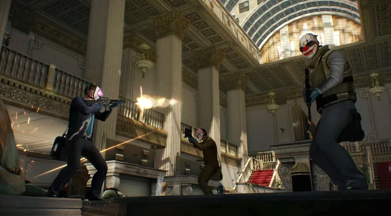 payday 2, first-person shooters on nintendo switch