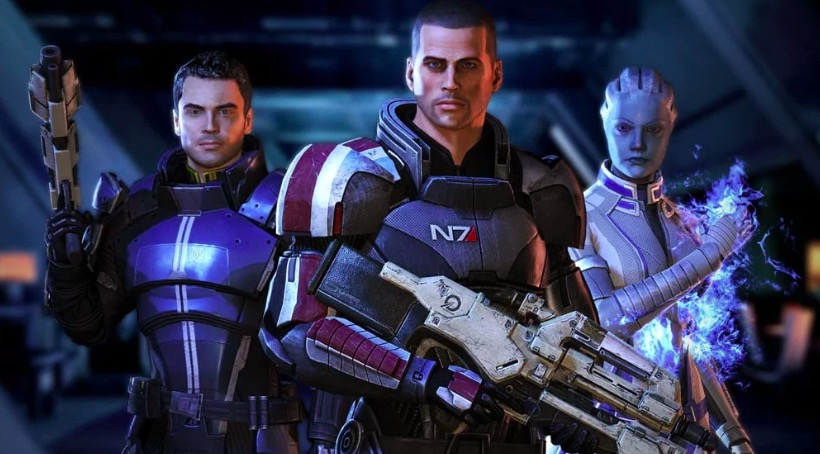 mass effect trilogy, bioware, EA, Video Game Franchises That Should Just Turn Into a Dating Sim Already