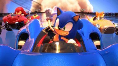 Team Sonic Racing Nintendo Switch TV Mode Off Fps
