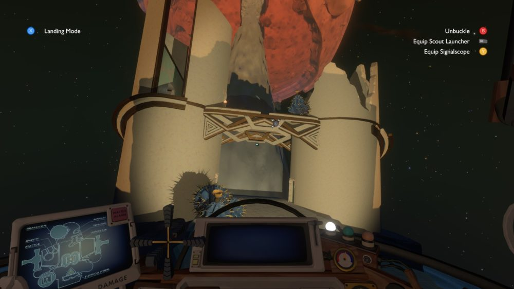 how to get to ash twin project in outer wilds