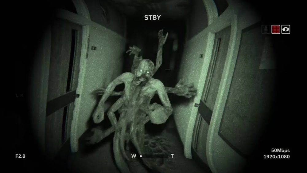 outlast, horror games switch
