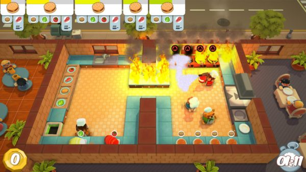 Overcooked, How to Throw Food