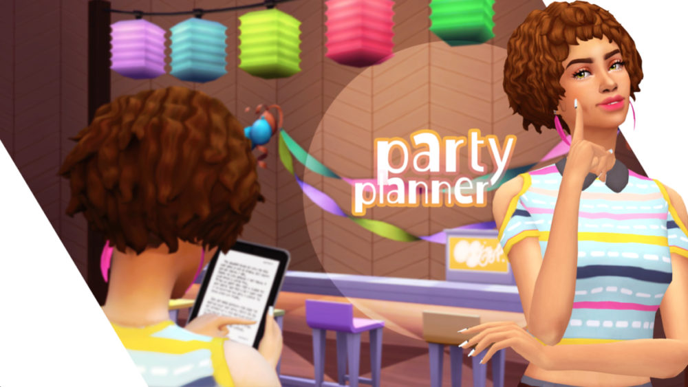 sims 4, mods, party planner