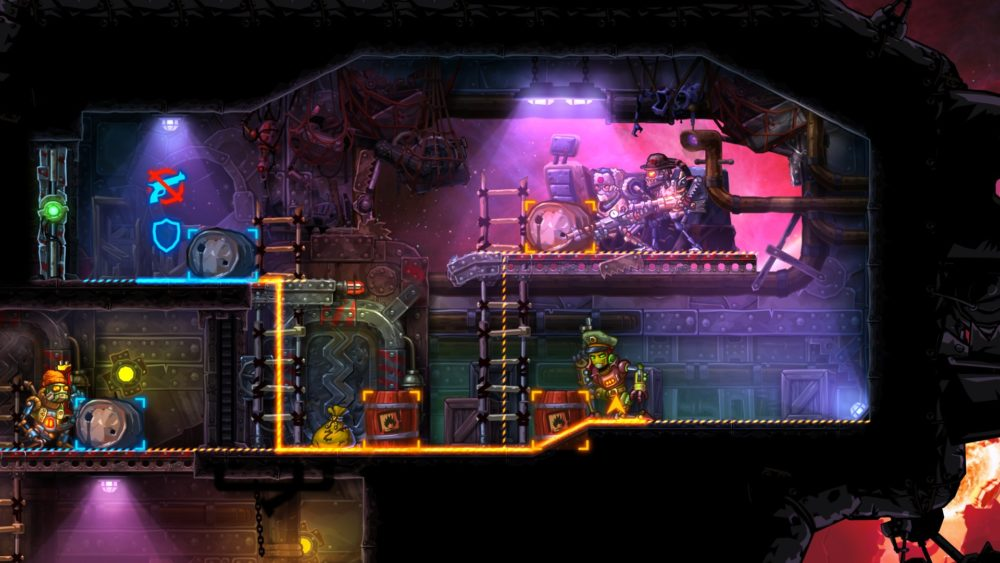 steamworld heist strategy