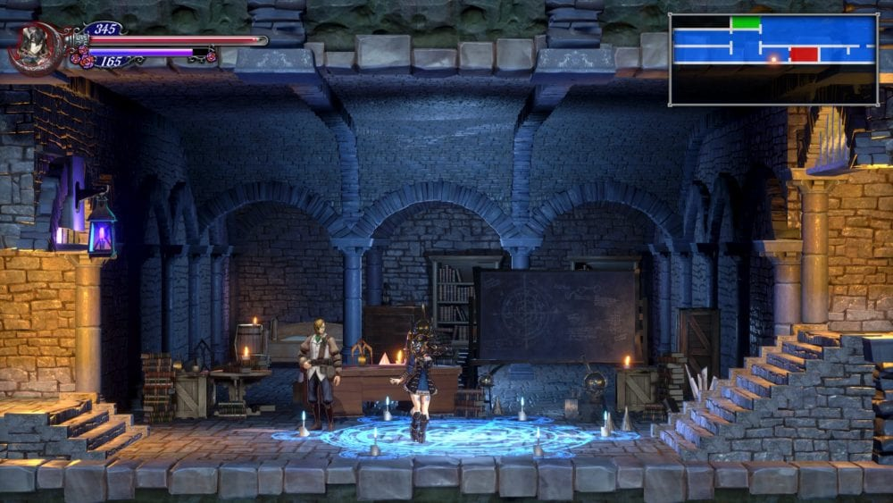 bloodstained, ritual of the night, johannes, review