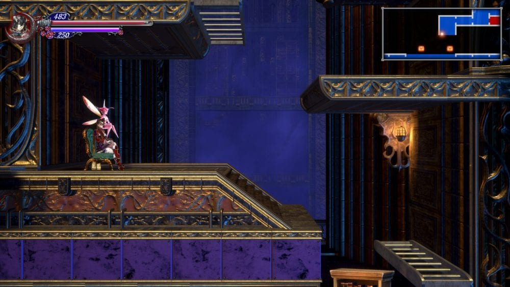 bloodstained, ritual of the night, familiar, review
