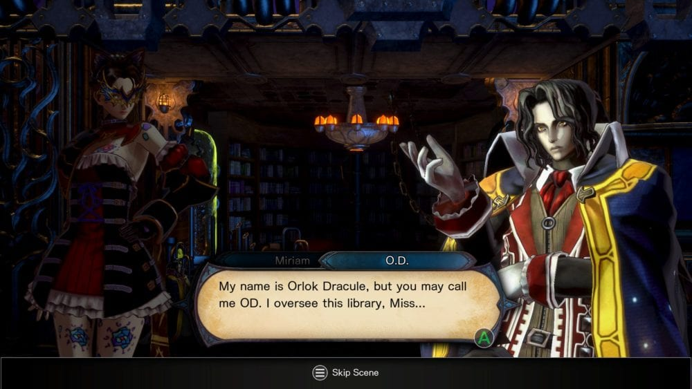 bloodstained, ritual of the night, review, O.D., Alucard