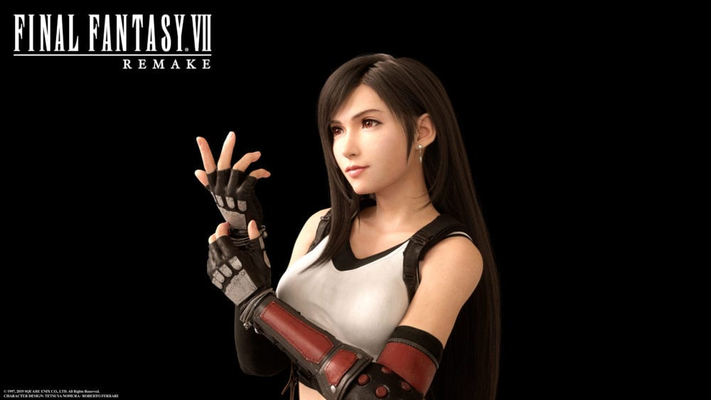 Final Fantasy Vii Remake Gets Gorgeous Images Of Tifa