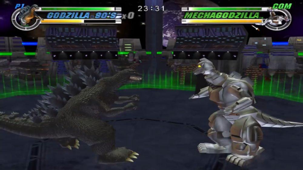 godzilla, destroy all monsters melee